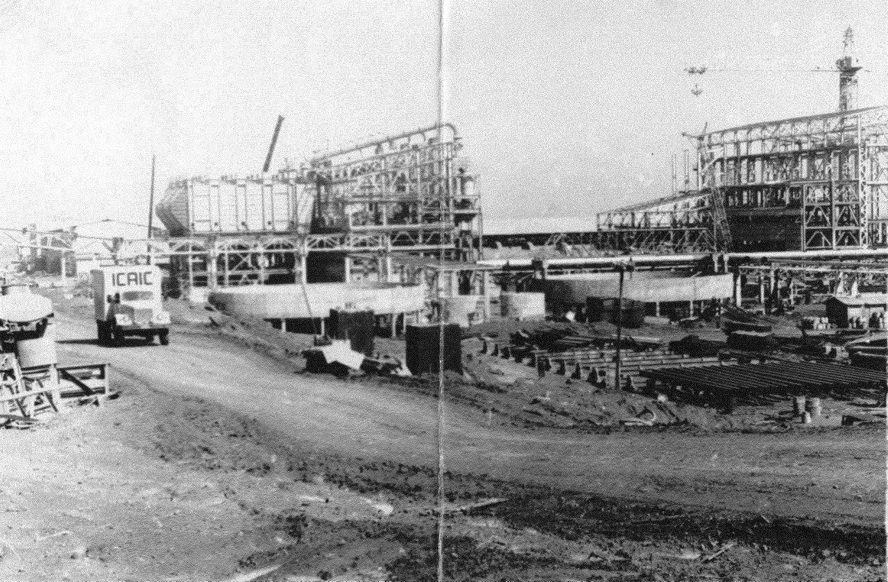 1990. Стройка никелевого завода Лас-Камариокас, фото 21