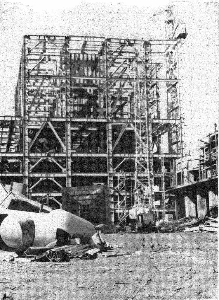 1990. Стройка никелевого завода Лас-Камариокас, фото 23