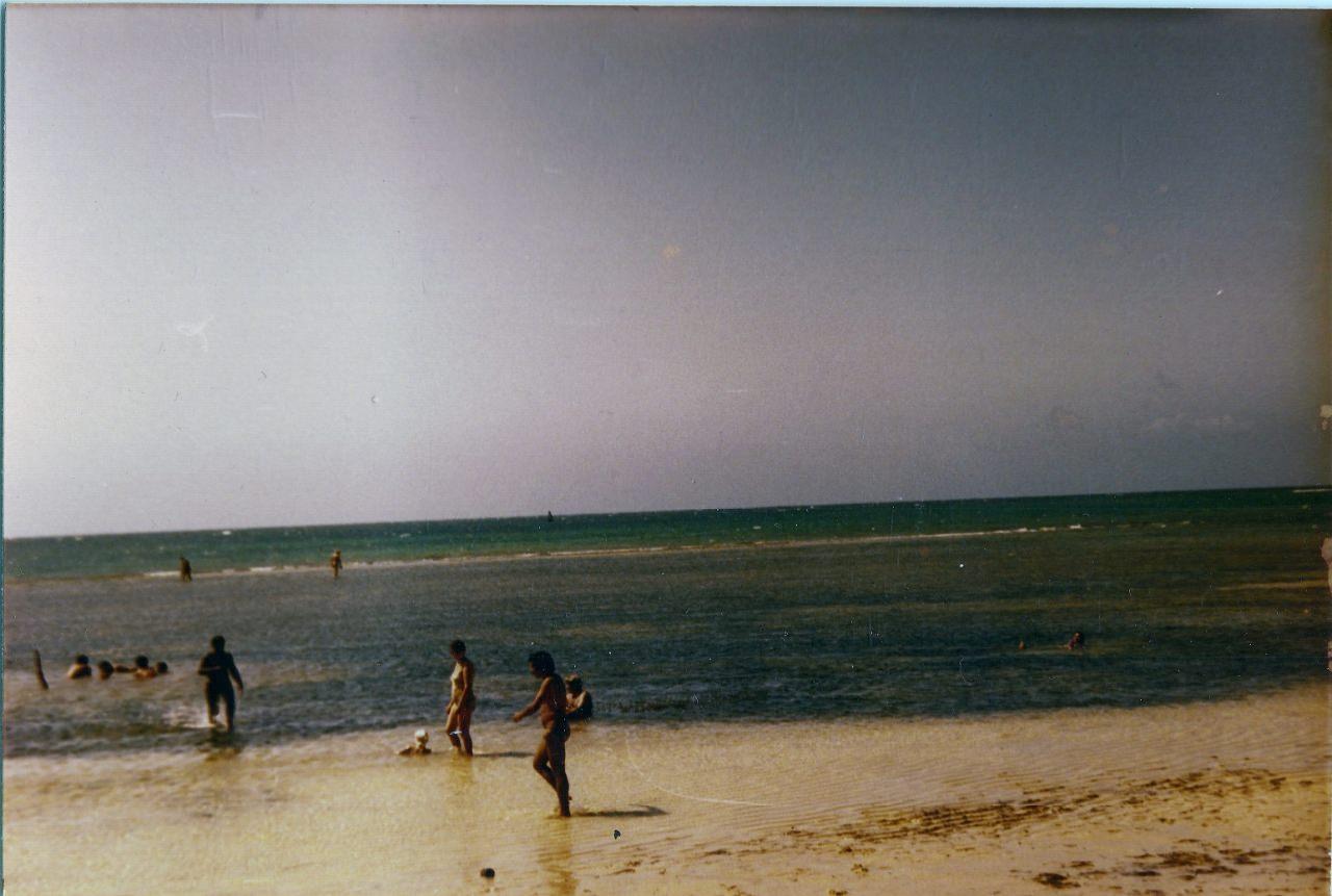Пляж Коринтия (Playa Corinthia). 1983. Февраль. 1