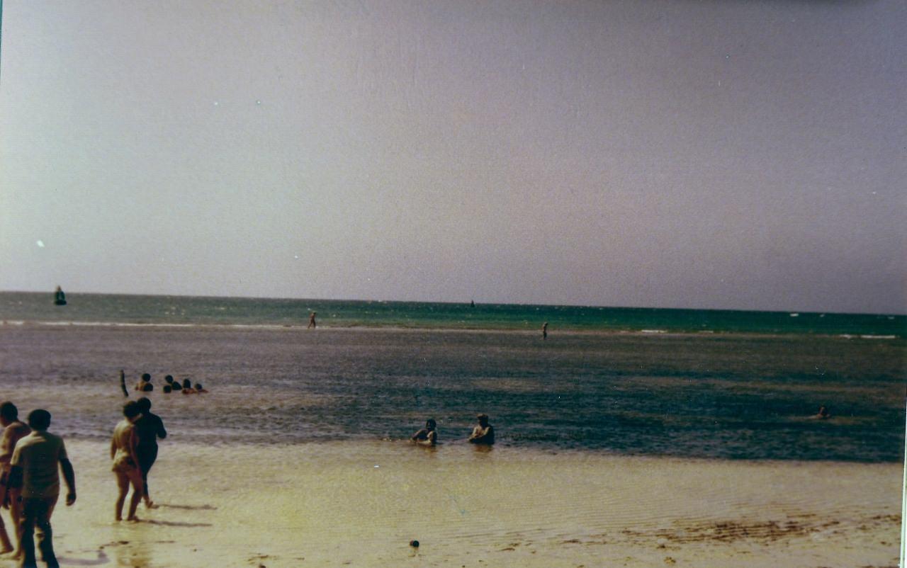 Пляж Коринтия (Playa Corinthia). 1983. Февраль. 3