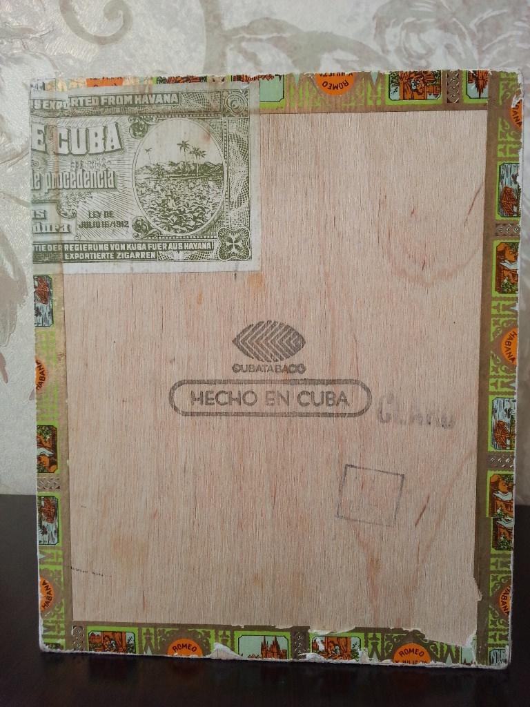 Коробка из-под сигар «Ромео и Джульетта». Вид 4.