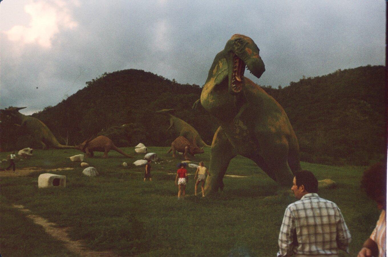 Сантьяго-де-Куба. Долина динозавров. 1985-1988. Фото 2