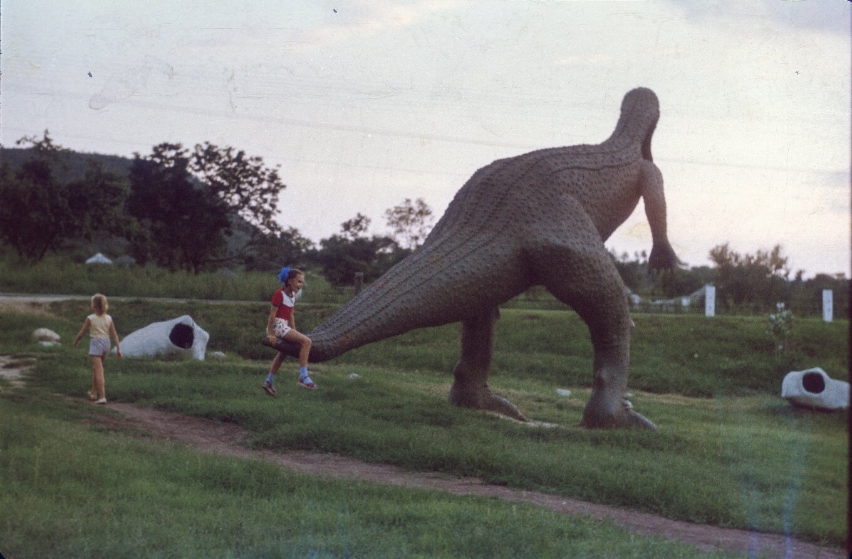 Сантьяго-де-Куба. Долина динозавров. 1985-1988. Фото 4