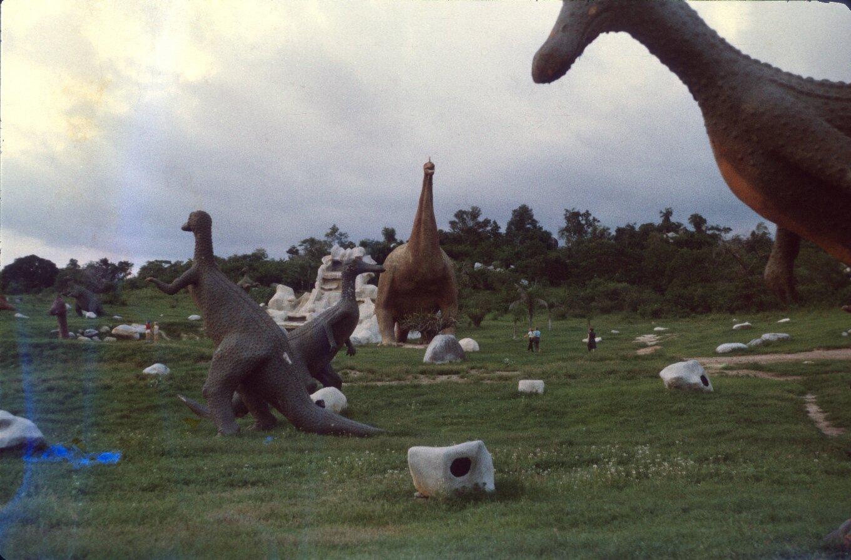 Сантьяго-де-Куба. Долина динозавров. 1985-1988. Фото 5