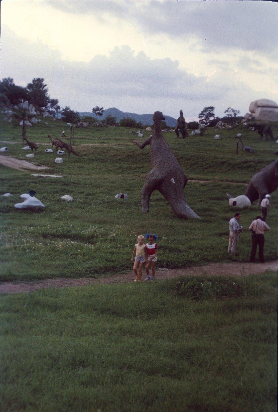 Сантьяго-де-Куба. Долина динозавров. 1985-1988. Фото 6