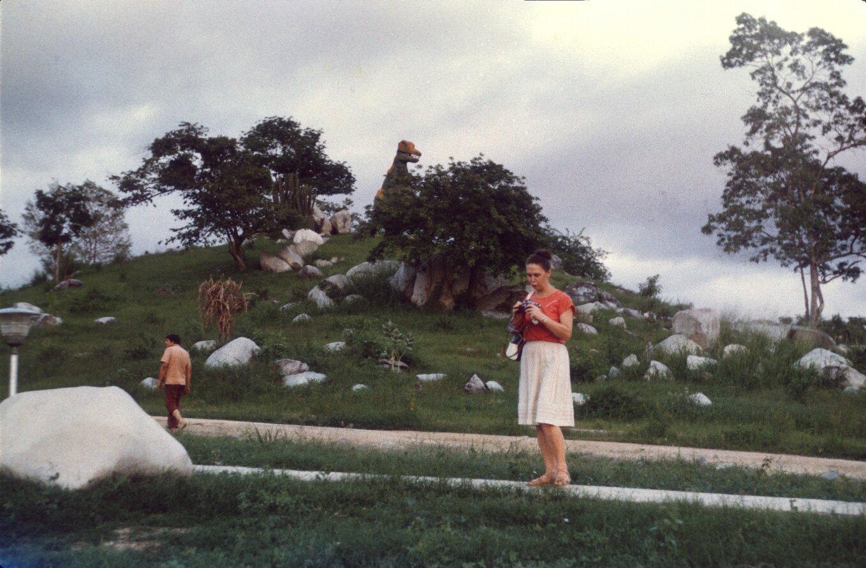 Сантьяго-де-Куба. Долина динозавров. 1985-1988. Фото 7