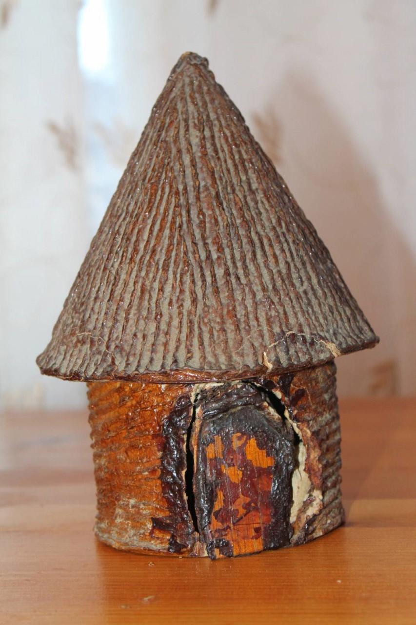 Сувенир «Хижина», куплен в магазине Гаваны