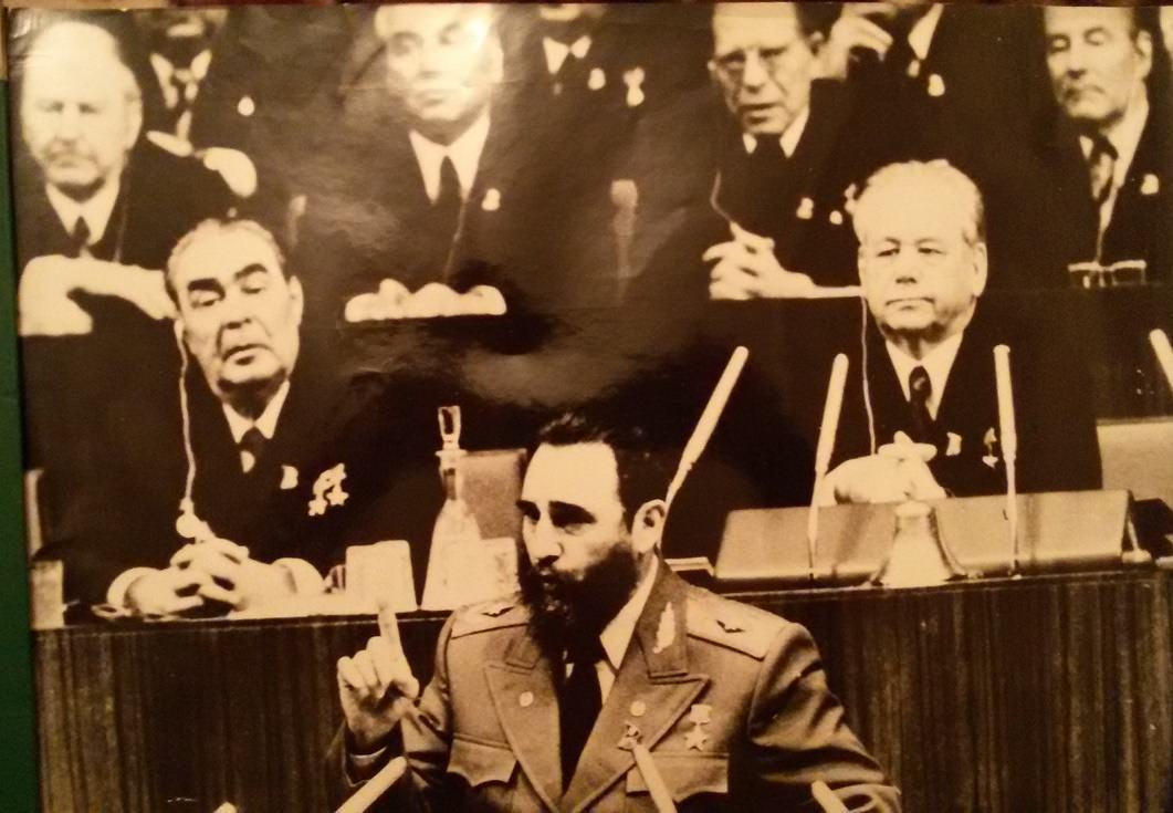 Выступление Фиделя Кастро на XXV съезде КПСС
