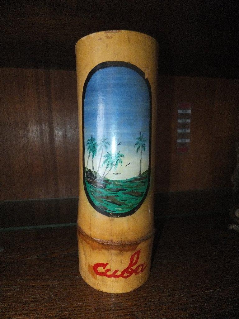 Стакан из бамбука