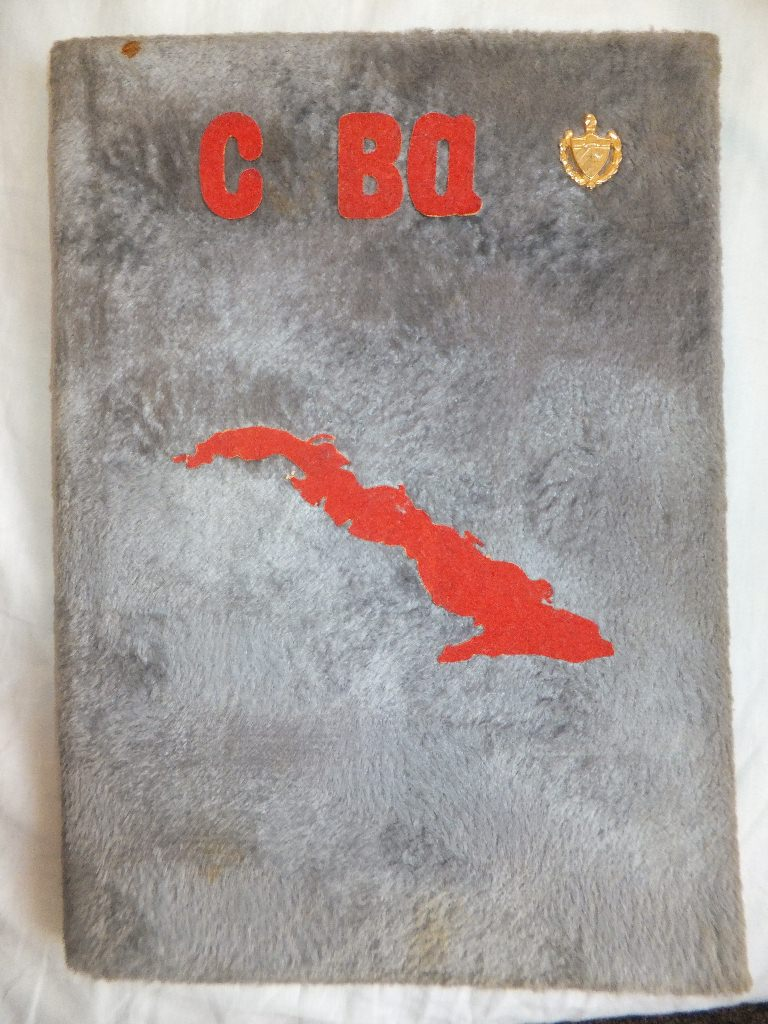 Самодельная книга о Кубе. Обложка.