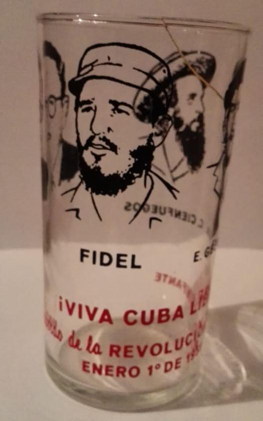1959. Стакан в честь победы Кубинской революции. Ракурс 2.