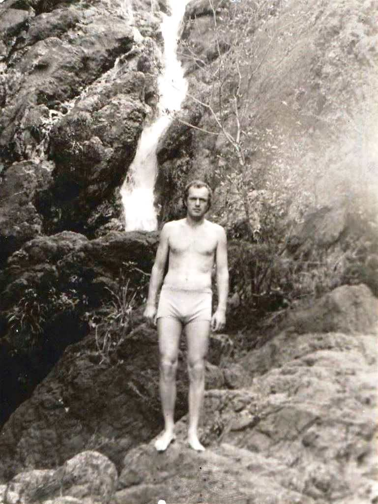 1978-1980. Фото 14. «Горная речка».