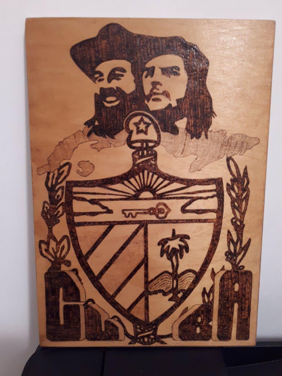 Доска. Кубинский герб