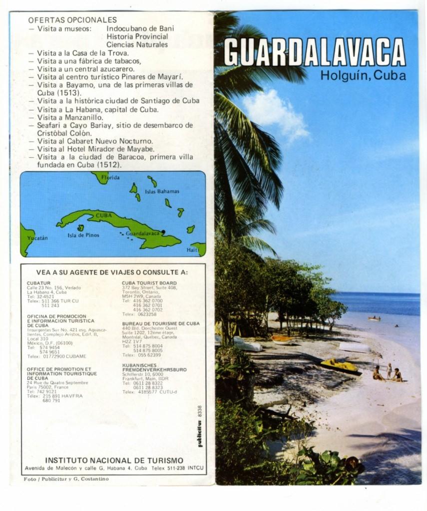 Гуардалавака. 1983-1985. Билет в Гуардалаваку-1