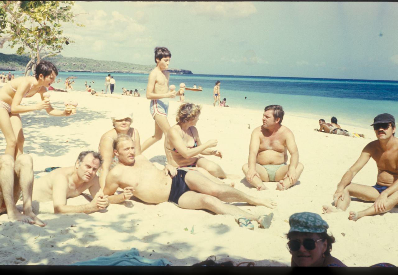 Гуардалавака. 1986. Спецы и их жены. 4