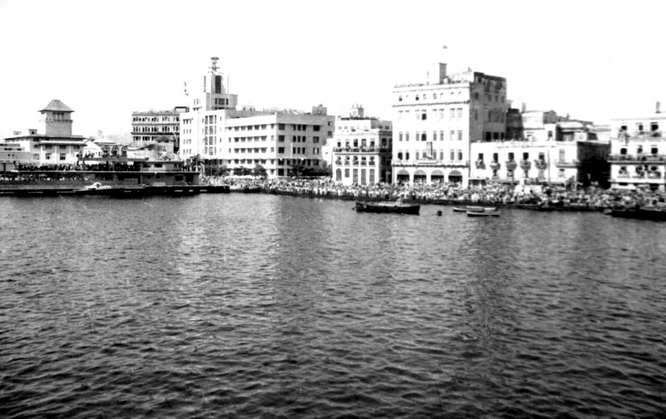 1969-07-20. Гавана встречает крейсер «Грозный»