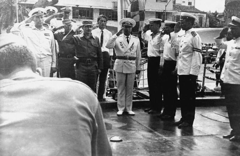 1969-07-20. Встреча кубинских гостей