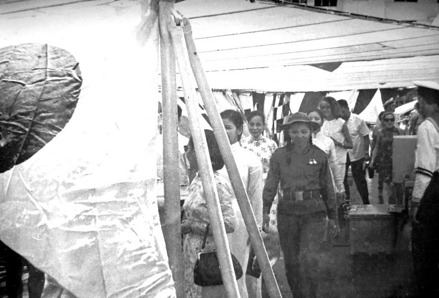 1969.07.21-26. Визит вьетнамской делегации на крейсер «Грозный»
