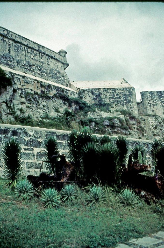 1989. Ноябрь. Крепость Эль-Морро. Фото 06.