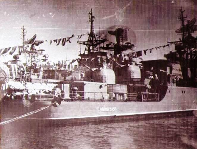 Февраль 1985. Сторожевой корабль «Разительный»
