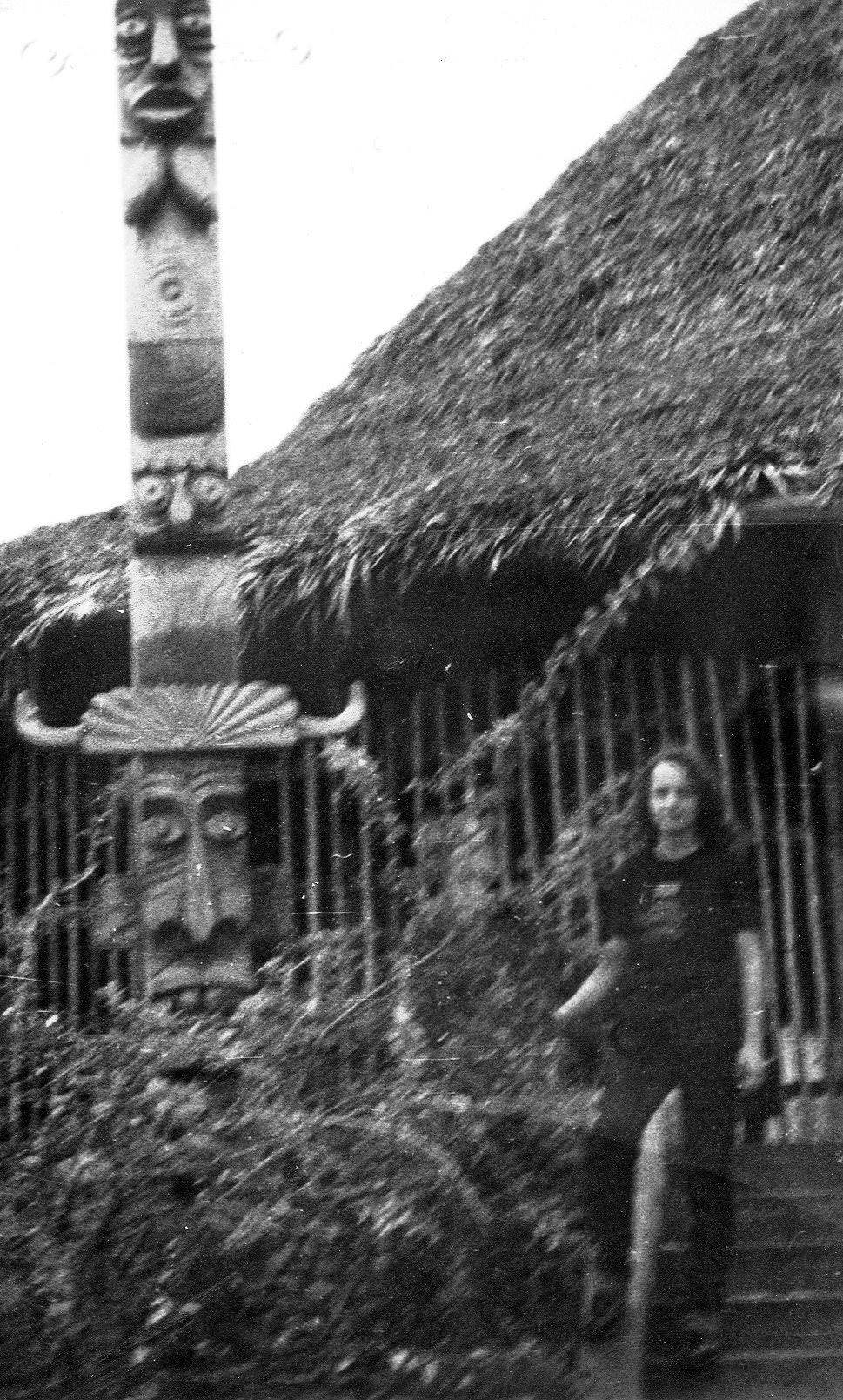 1982-1984. Инна Леонова у Интерклуба.
