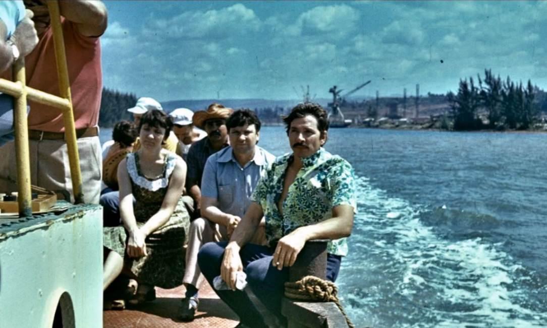 1977-1981. На «Барке» в Кайо-Моа.