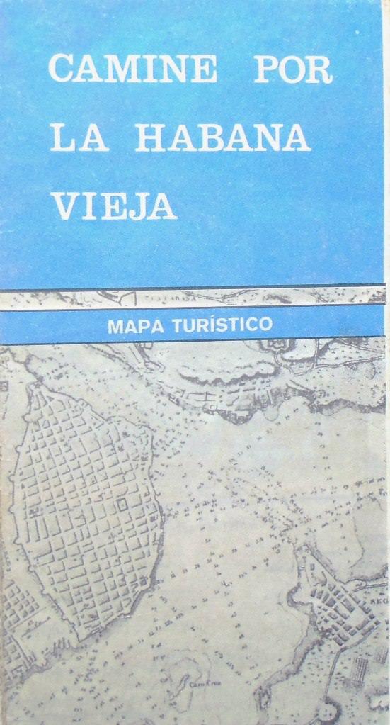 1984. Карта-буклет «Старая Гавана»