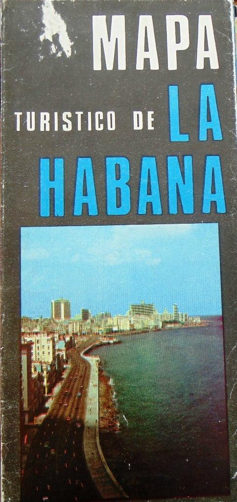 1979 (перепечатано в 1986). Карта-буклет «Гавана»