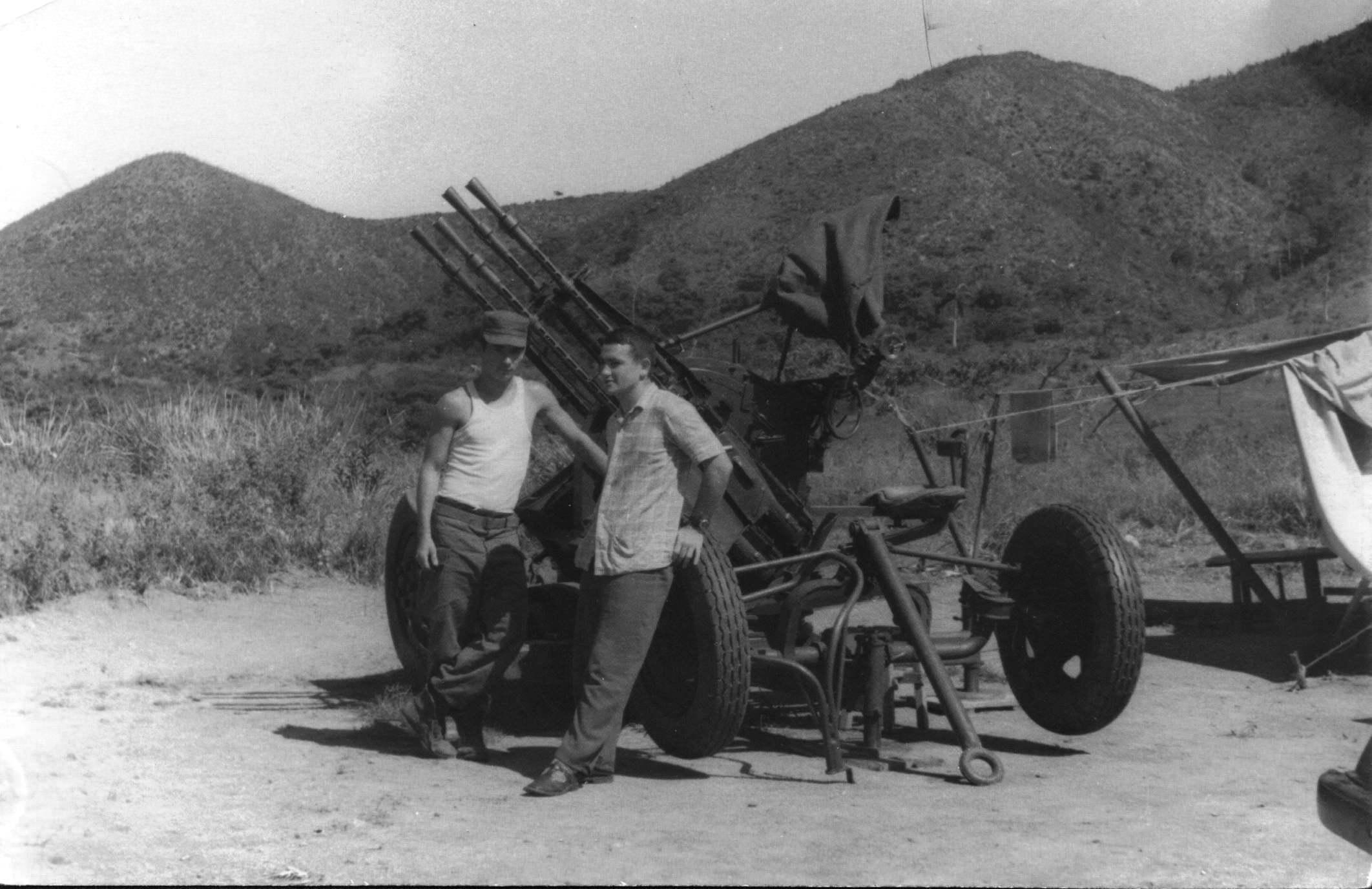 23. На границе внешней охраны полка. Общение с кубинскими военнослужащими