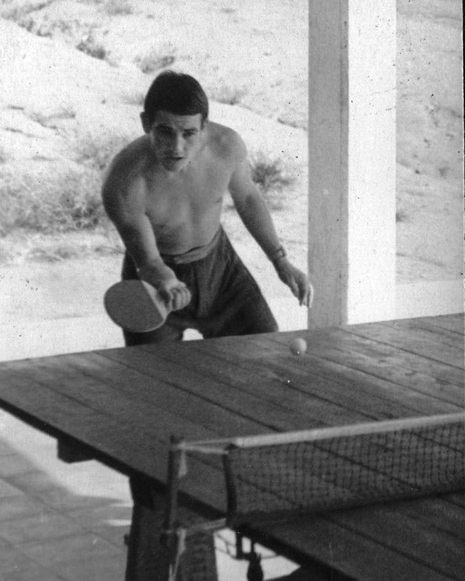 39. Настольный теннис