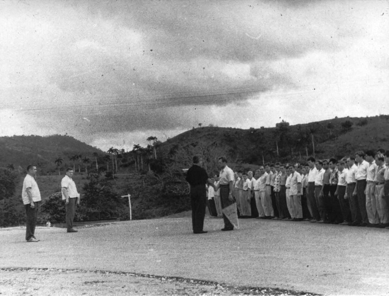 65. Июнь 1964, передача техники кубинцам