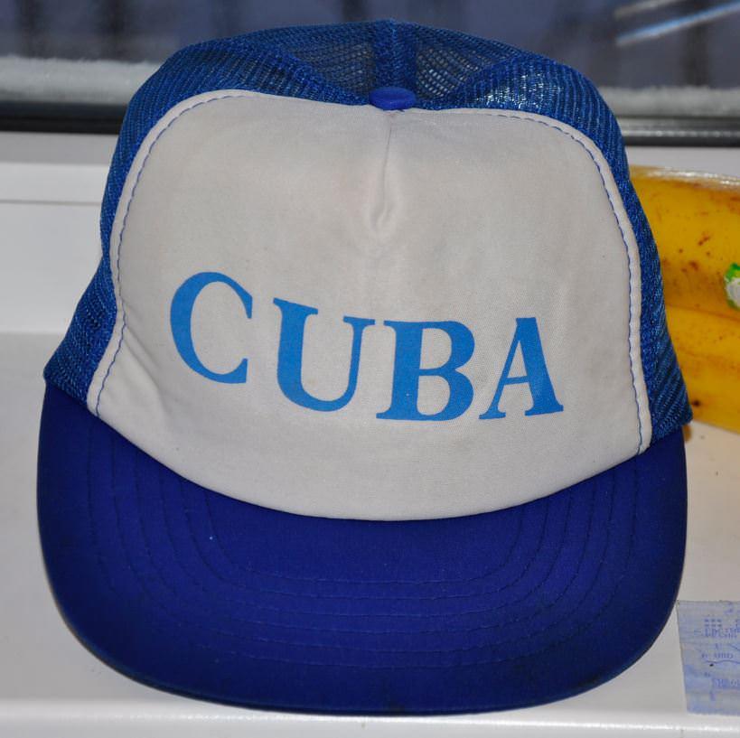 Кепка с надписью «Cuba», купленная в магазине «Диплотьенда».