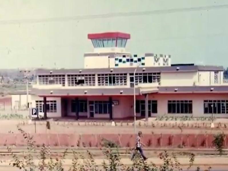 1982-1984. Новый аэропорт в Моа, 1 снимок