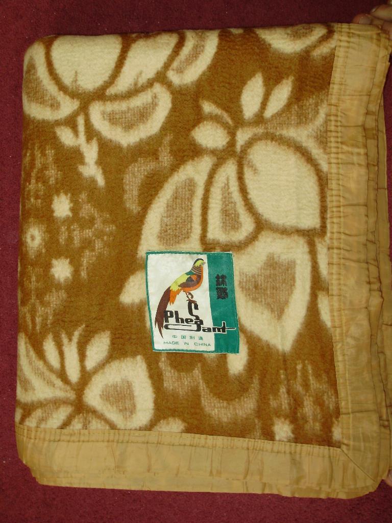 Китайское одеяло. Куплено на отоварке.