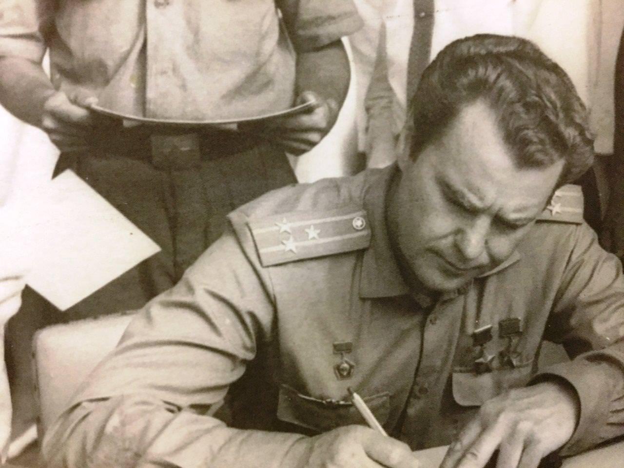 1970. Космонавт Владимир Александрович Шаталов
