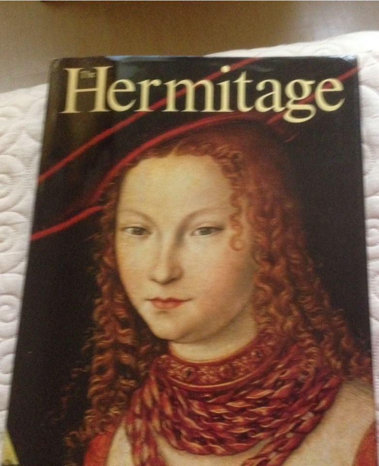 487. 1985. Апрель. Книга The Hermitage, обложка