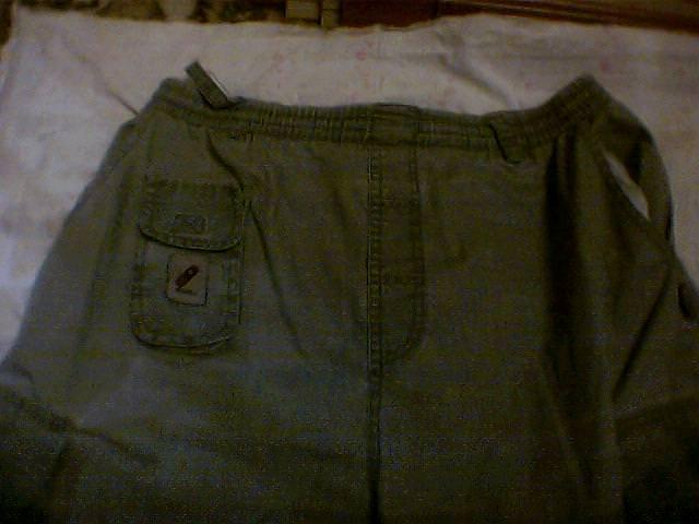 1985. Длинные шорты из брезента, фото 1