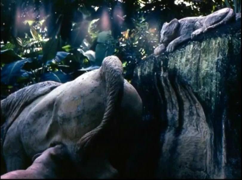 «Каменный зоопарк» в Ятерасе - Zoologico de Piedra. 1982-1984, фото 2