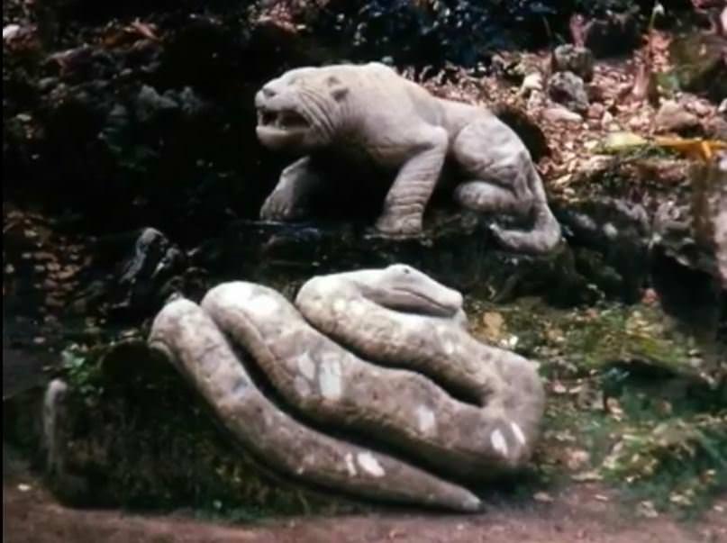 «Каменный зоопарк» в Ятерасе - Zoologico de Piedra. 1982-1984, фото 5