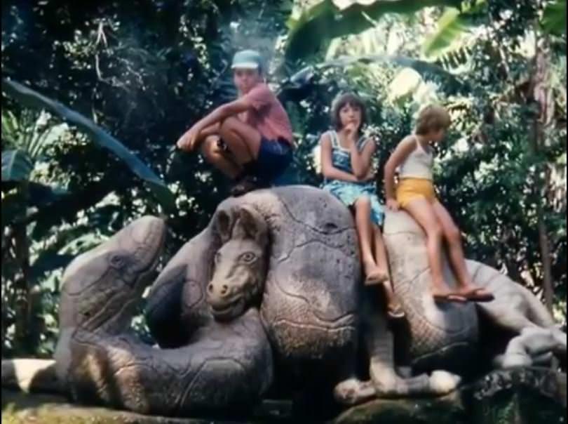 «Каменный зоопарк» в Ятерасе - Zoologico de Piedra. 1982-1984, фото 10