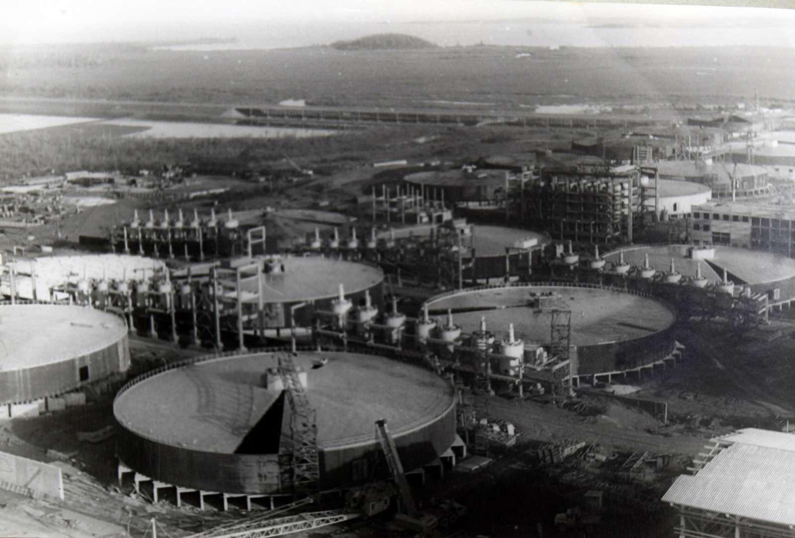 1981-1982. Фото 13. Вид сверху 3