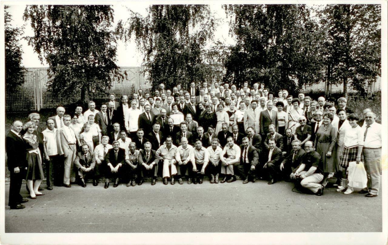46. Встреча бывших комсомольцев, работавших в Республике Куба, спустя 25 лет. СССР, г. Москва. 1986 г.