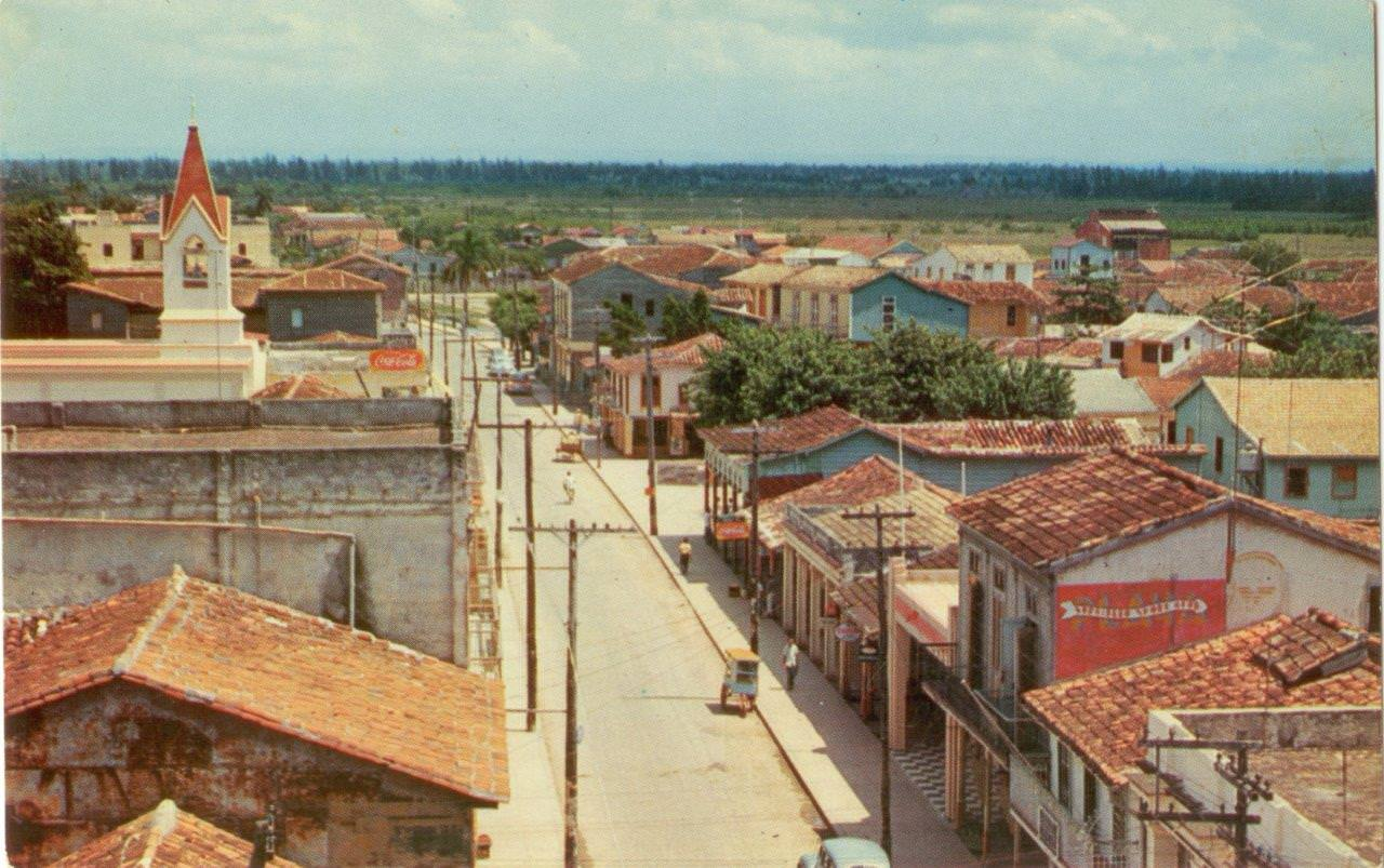 49. Карточка почтовая. Батабано, Республика Куба. Республика Куба, г. Гавана. 1960-е гг.