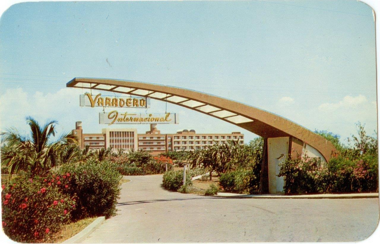 52. Карточка почтовая. Отель «Варадеро Интернациональ», Республика Куба. Республика Куба, г. Гавана. 1962 г.