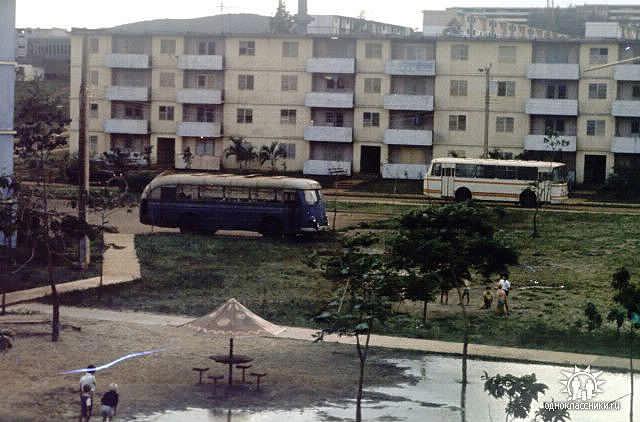 1980-1983. Дом №11, остановка «Чевдаров».