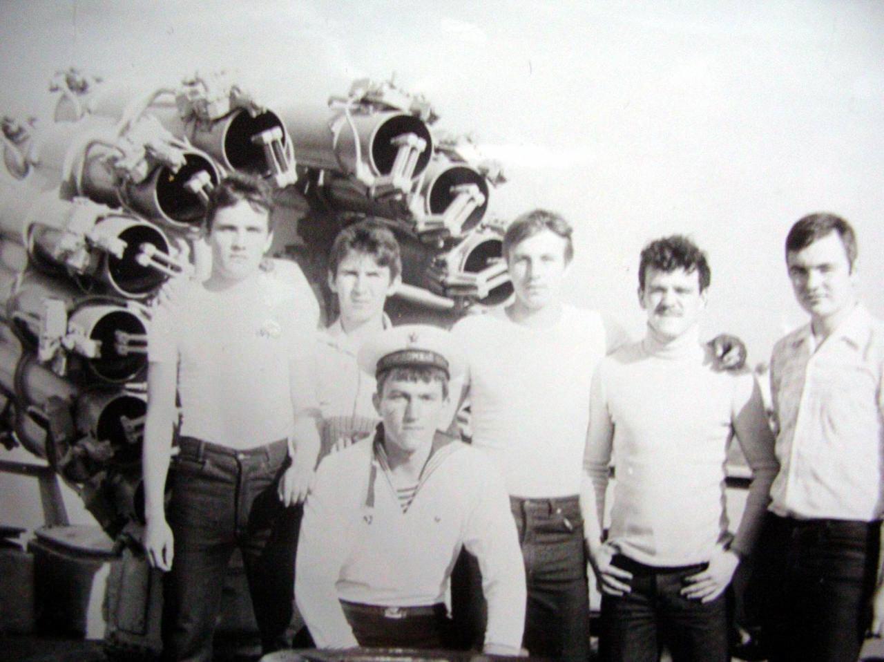Лето 1984. На борту противолодочного крейсера (ПКР) [вертолетоносца] «Ленинград»