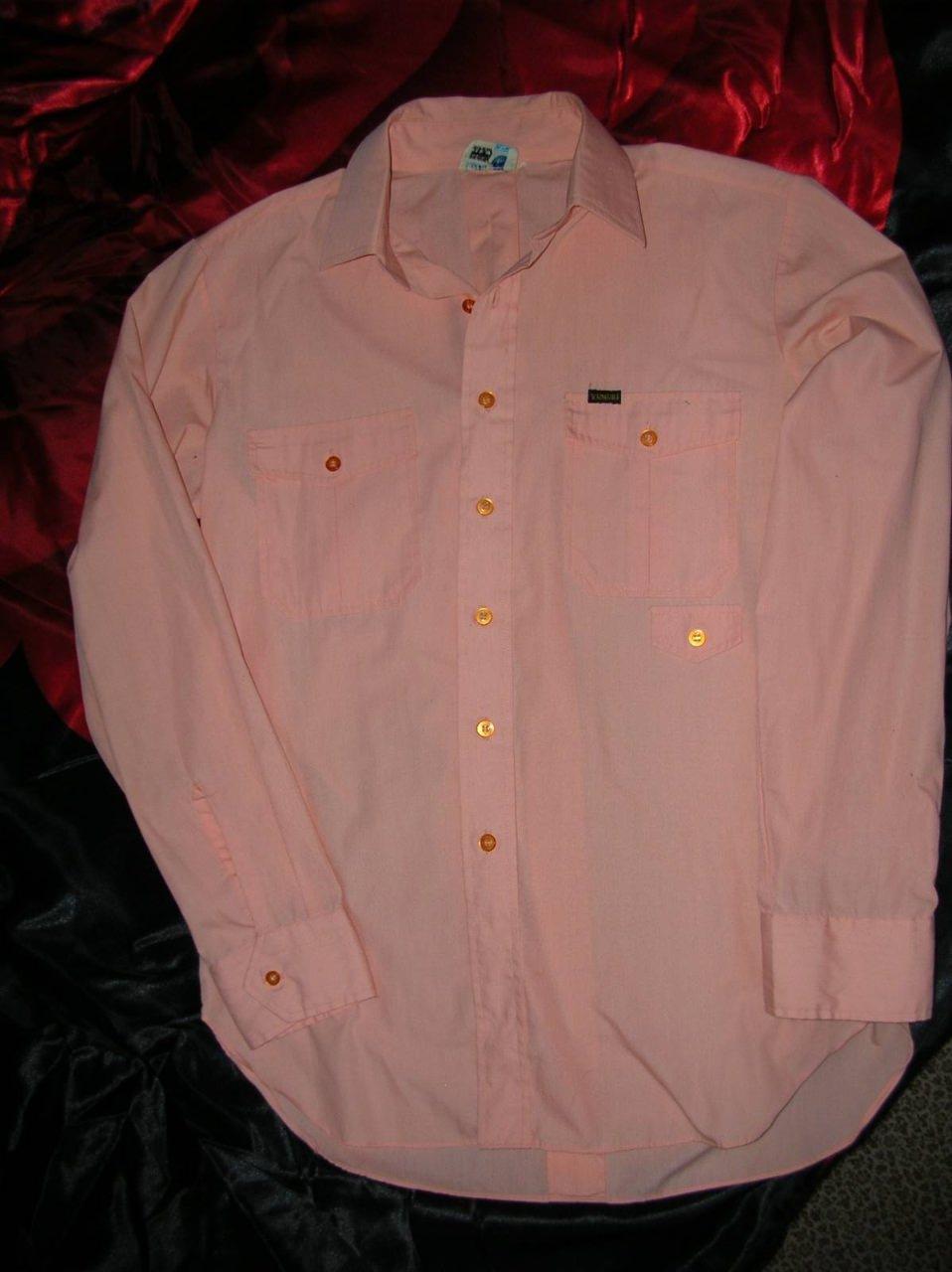430. Рубашка. Куплена на отоварке. 1