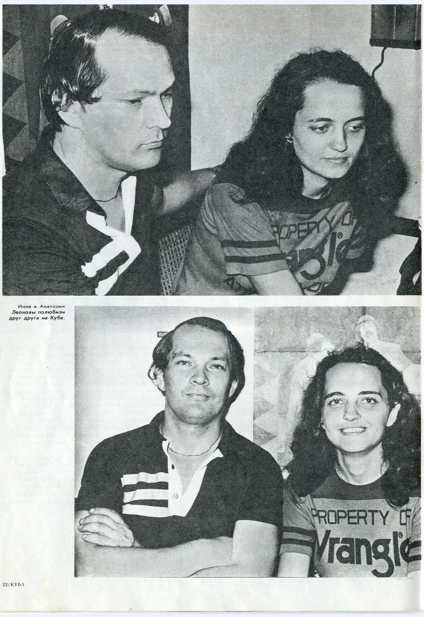 Журнал «Куба», номер 3 за 1987, стр. 22