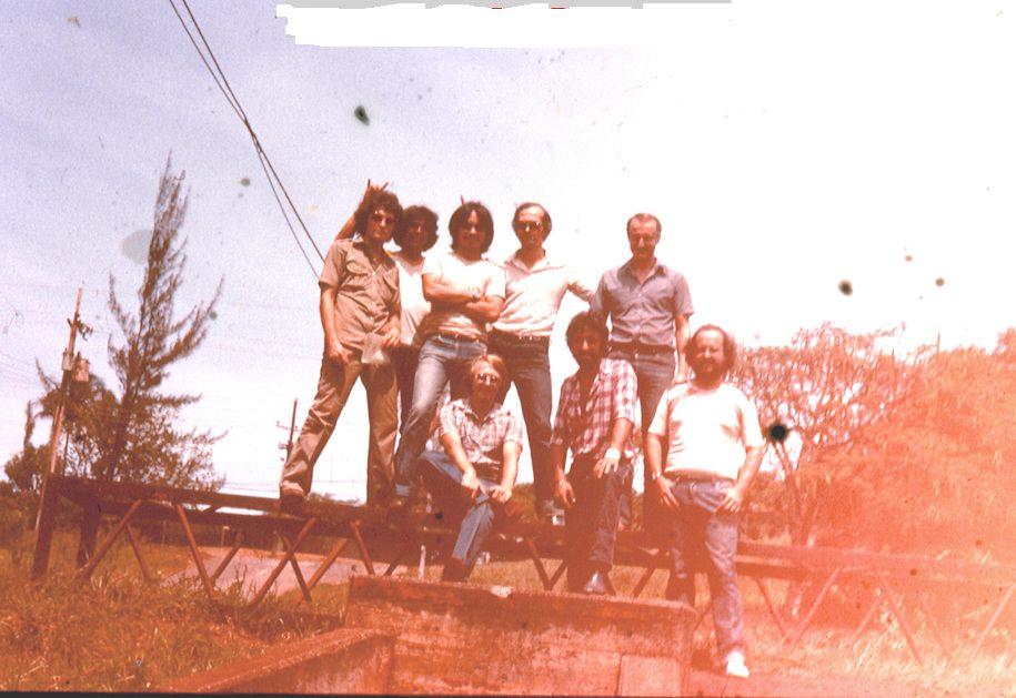 1982-1984. Группа «Ралли». Фото 03. Группы «Ралли» и «Лос Дан».