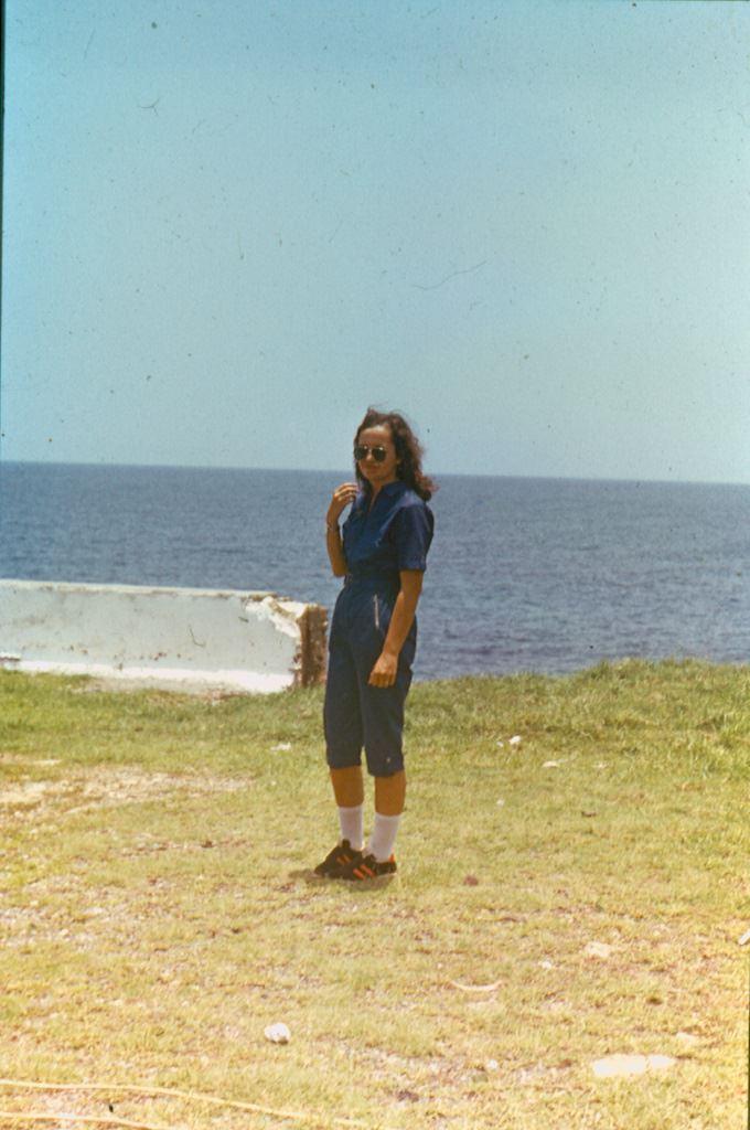 Баракоа. 1982-1984. Леонова (Мирошникова) Инна.